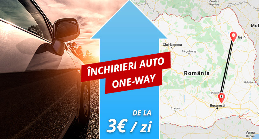 Inchirieri auto One Way